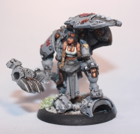 A converted Limited Edition Khador Man-O-War from Privateer Press' Warmachine
